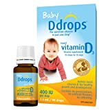 Ddrops Baby 400IU Liquid Vitamin D3 Drop, 2.5ml