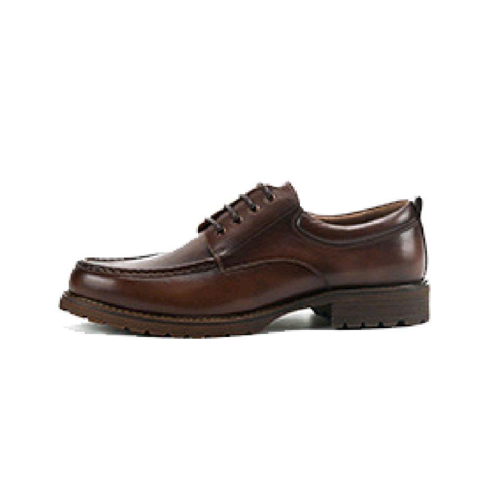 Oxford Original Marca Hombre Inglaterra Casual Zapatos Individuales Nuevo Británico Retro Zapatos De Cuero Pintados A Mano 38 EU|Coffecolor