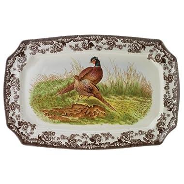 Spode Woodland Pheasant Rectangular Platter