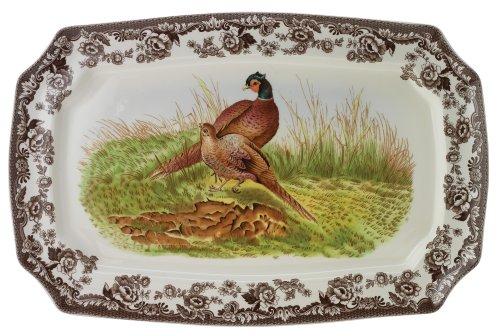 (Spode Woodland Pheasant Rectangular Platter)