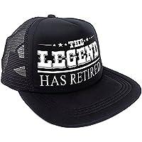 Sterling James Co. Sombrero The Legend Has Retired (La Leyenda se ha Jubilado) - Artículos, Regalos y Decoración para Fiesta de Jubilación