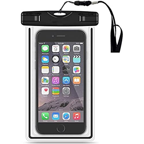 Universal Waterproof Case, HAOCITY Cell Phone Dry Bag for Apple iPhone 6S 6,6S Plus, 5S 5, Samsung Galaxy S7,S6.S5, Note 5 4, HTC LG Sony Nokia Motorola Sales