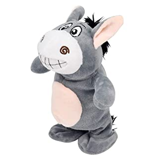 Peggy Gu Giocattoli per Lo Sviluppo dell'apprendimento prec Little Donkey Electric parlerà e ballerà Walk Walk Giocattoli per Bambini (72 brani incorporati) Rompicapo Giocattolo educativo
