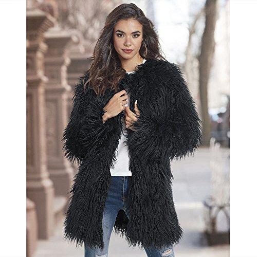 Shaggy Faux Fur Jacket by JORDAN VINEYARD & WINERY