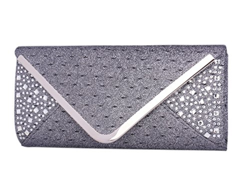 Bag Purse Crossbody Tone Day Handbag Two of Grey Clutch Evening Saturn Envelope ff8q14