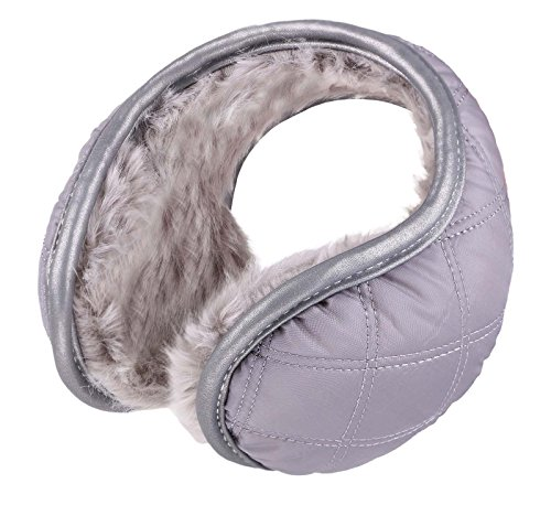 Winter Water Resistant Outdoor Earmuffs with Safety Reflective Stripes