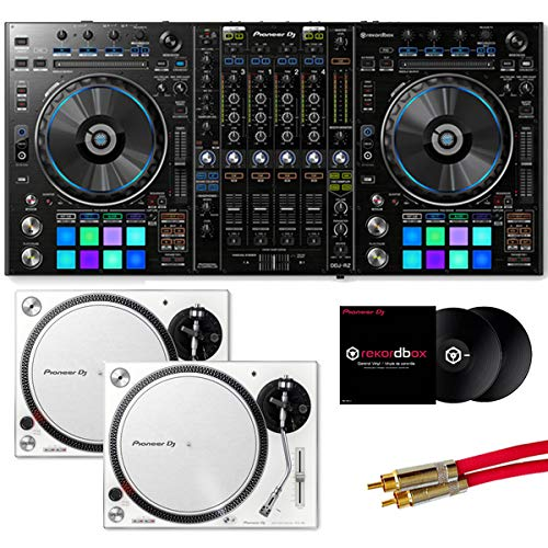 【9大特典】Pioneer DJ パイオニア/DDJ-RZ/PLX-500-W DVSセット   B07N4LQ9DH