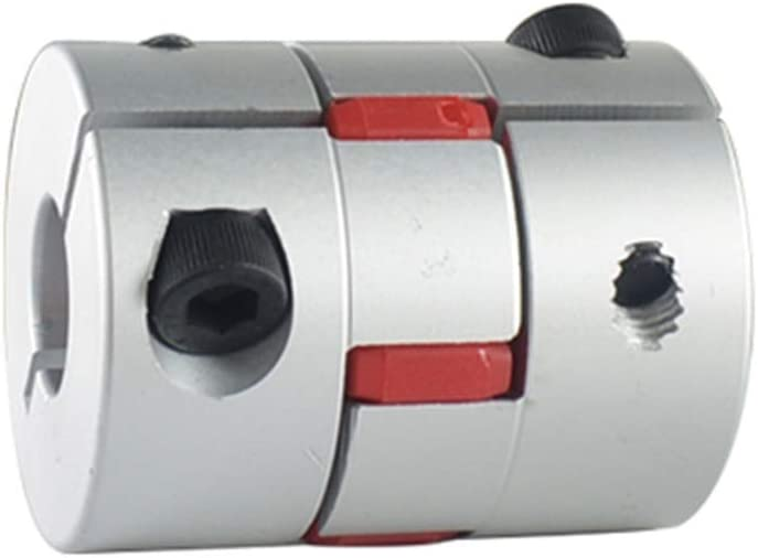 CHEMB JWUI D35 L40 Aluminium Shaft Plum Blossom Coupling Motor Connector Flexible Shaft Coupling 10mmx19mm Flexible Couplings Inner Diameter : 10mm to 19mm