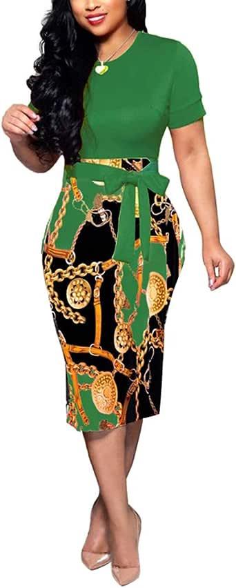 Lover-Beauty Vestido Mujer Elegante Largo Sexy Verano Moda Mujer ...