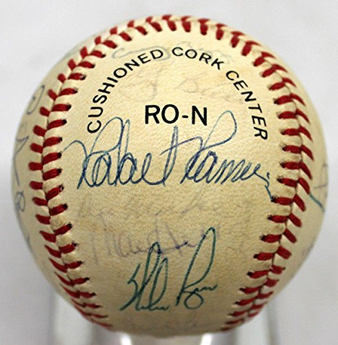 1988 Houston Astros Signed Team Baseball Nolan Ryan Yogi Berra 28 Beckett BAS – Authentic MLB Autograph