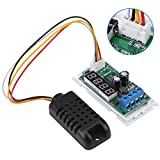 LED Temperature Humidity Sensor, Digit Display RS485 Modbus RTU Humidity Temperature Sensor with External Sensor