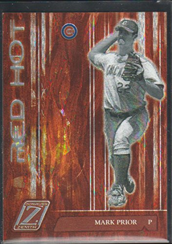 2005 Donruss Zenith Mark Prior Cubs Red