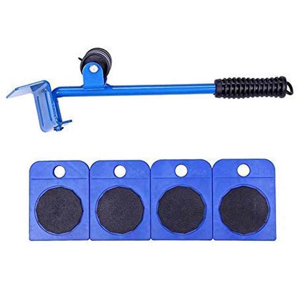 adecuado para sof/ás rojo Herramienta para mover muebles juego de herramientas manuales port/átiles de acero para levantar objetos pesados sof/ás y refrigeradores
