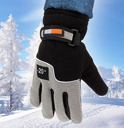 1-Pc (1-Pair) Culmination Popular Hot Mens Thermal Warm Glove Motorcycle Hand Cover Soft Feeling Touch Screen Color Black
