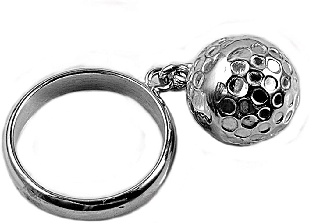 Princess Kylie 925 Sterling Silver Chained Ball Ring