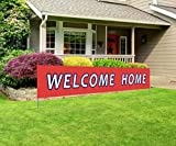 Large Welcome Home Banner | Back Home Welcome Sign | Extra Large Homecoming Party Decorations