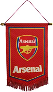 "Louishop Football Club Indoor and Outdoor Flags Vivid Color Hanging Flags Decor for Bedroom/Club/Bar/Event 15""x9.4"" (Arsenal, 15""x9.4"")"