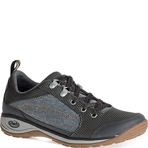 Chaco Women's Kanarra-W Hiking Shoe, Black, 8.5 M US