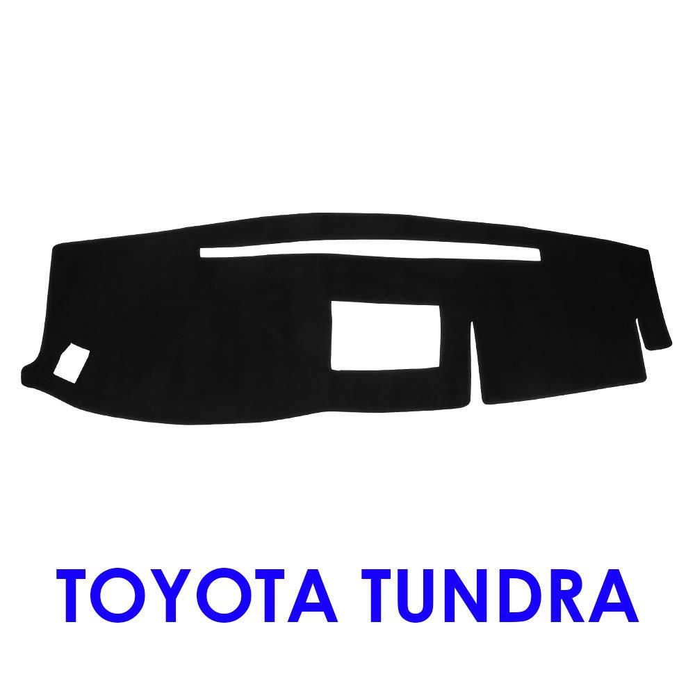 JIAKANUO Auto Car Dashboard Carpet Dash Board Cover Mat Fit Toyota Tundra 2007-2013 Gray MR-065