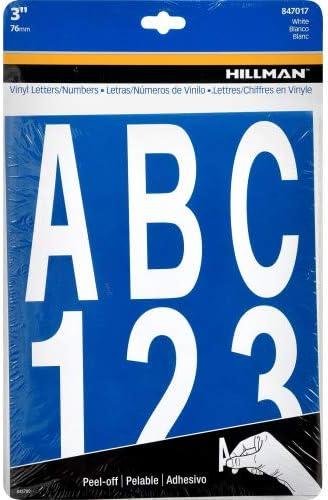 Self Adhésif Vinyle lettres ou chiffres-pre-spaced