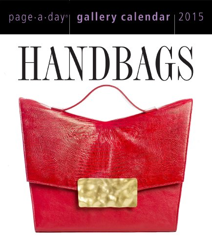 Handbags 2015 Gallery Calendar