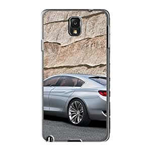 New Style Pollary Hard Case Cover For Galaxy Note3- Bmw Concept Cs Rear Angle