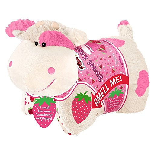 Care Bears Room Decor (Pillow Pets Sweet Scented Pets -  Strawberry Milkshake Cow, Strawberry Milkshake Scented  Stuffed Animal Plush Toy)