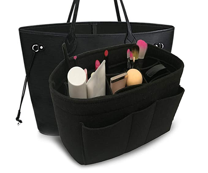 Image Unavailable. Image not available for. Colour  Felt Insert Fabric Purse  Organizer ... 376236f304f46