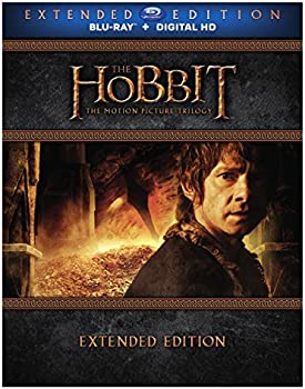 Hobbit: The Motion Picture Trilogy Extended Edition on Blu-ray