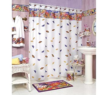 BUTTERFLY bathroom SHOWER Curtain bath home decor NEW. Amazon com  BUTTERFLY bathroom SHOWER Curtain bath home decor NEW