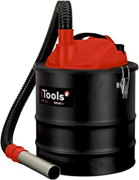 ITOOLS - Aspirador de cenizas 1200 W 18 L filtro HEPA Barbecues ...