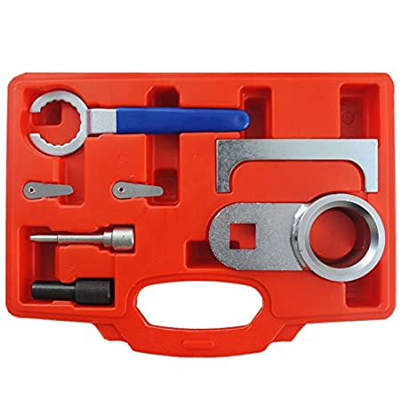 Kit de herramientas para ajuste de motor - Puerto duración, correa dentada cambio, cadena del árbol de levas,, auxiliar de cinturón, Clip, ...