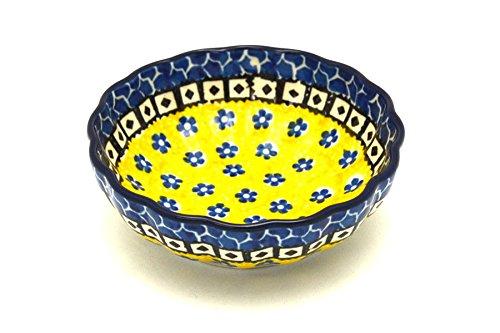 UPC 852664807095, Polish Pottery Bowl - Shallow Scalloped - Small - Sunburst