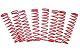 T-Maxx and E-Maxx Red Powder Coated Dual Rate Shock Springs