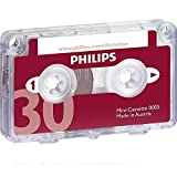 Philips LFH0005-60 30-Minute Mini Cassette Tape (single)