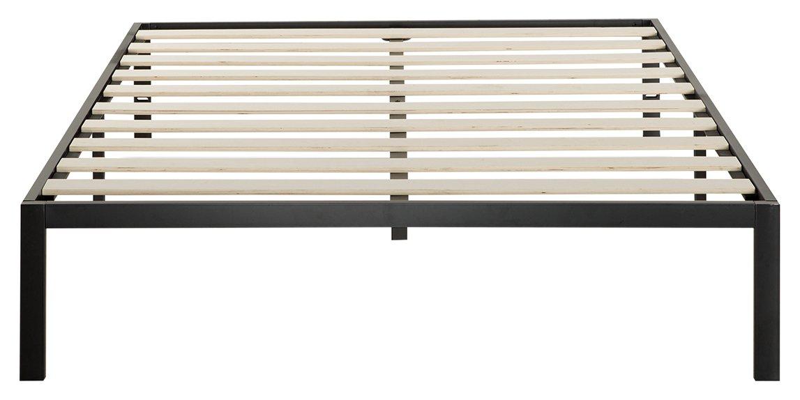Zinus Modern Studio 14 Inch Platform 1000 Metal Bed Frame / Mattress Foundation / no Boxspring needed / Wooden Slat Support / Good Design Award Winner, Full AZ-ASMP-14F