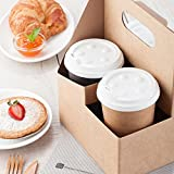 Paper Drink Carrier, Coffee Cup To Go Carrier, Cup