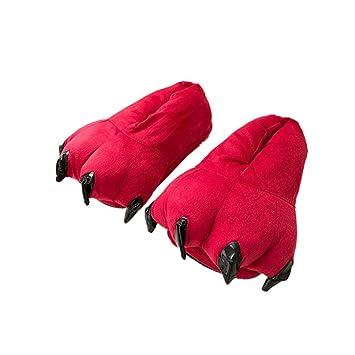 Zapatillas Garras Monstruo Invierno- Zapatillas De Casa Animales con Garras Originales Y Divertidas - Adultos Y Niños - Hombre Y Mujer Carnaval Animales ...