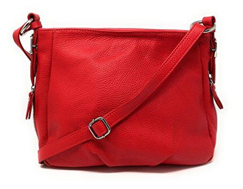 Modèle Clair cuir à OH main Sac femme Rimbaud MY BAG Rouge qHng0PnUa
