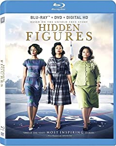 Cover Image for 'Hidden Figures [Blu-ray + DVD + Digital HD]'