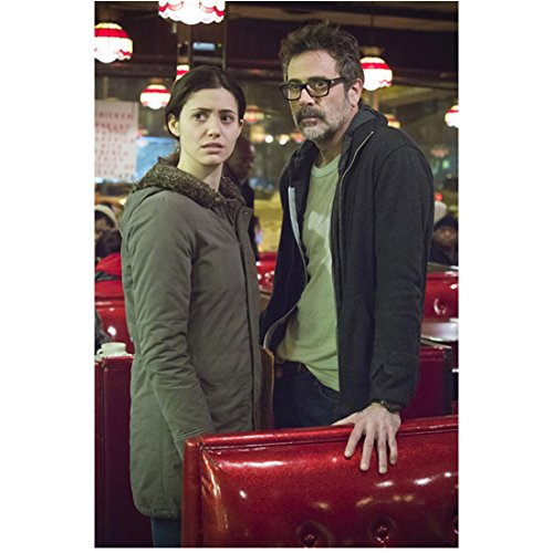 Shameless Emmy Rossum as Fiona Gallagher Standing by Boss at Booth 8 x 10 inch Photo ()