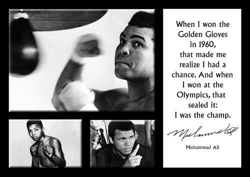 Muhammad Ali 16 A4 Leyenda Starlitesports Frases