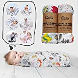 Bobi Care - Muslin Baby Swaddle Blankets - for Newborn Infant Toddler - Gentle Soft and Safe for Baby's Skin Swaddle Blankets - 70% Bamboo 30% Cotton - 47 x 47 inch