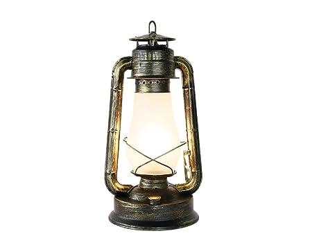 QEQ Vintage Industrial Lámpara De Queroseno 1 candelabro de ...