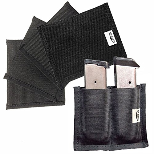 STEALTH Velcro Double Clip Pouch Magazine Holder Gun Safe Accessory (5) by STEALTH