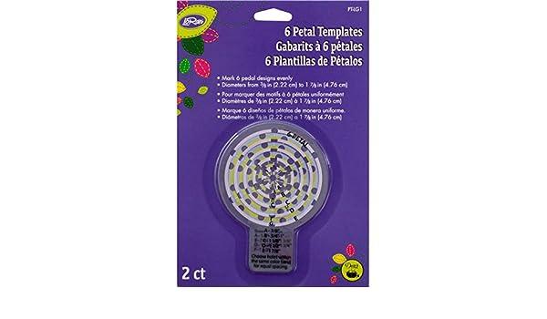 Dritz Loran pétalos Plantilla, tamaño Grande, 2 Unidades ...