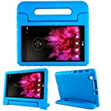 protective lg tablet case - SIMPLEWAY LG G Pad X 8.0 Kids Case, Only Fit AT&T V520/T-Mobile V521 Tablet, Carry Handle Child Stand Holder EVA Foam Shock Proof Protective Cover for LG 8 Inch G Pad, Blue