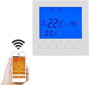 hergon WiFi Termostato, RF – Termostato Calderas mando a distancia ...