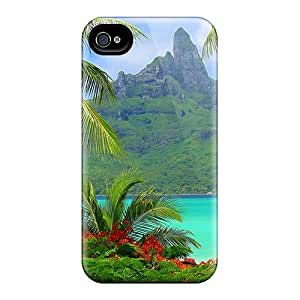 Top Quality Cases Covers For Iphone 6plus Cases With Nice Bora Bora Resort South Polynesia Appearance