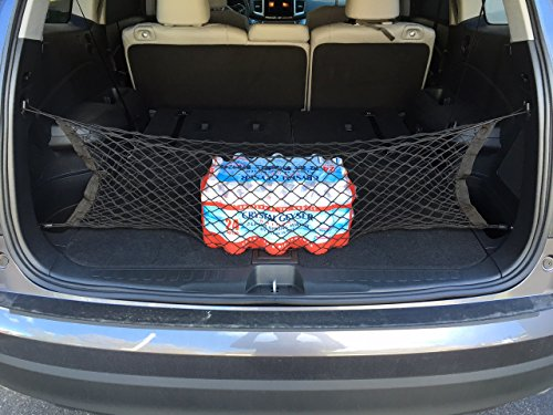 TrunkNets Inc Envelope style trunk cargo net for Honda Pilot 2016 2017 2018 2019 2020